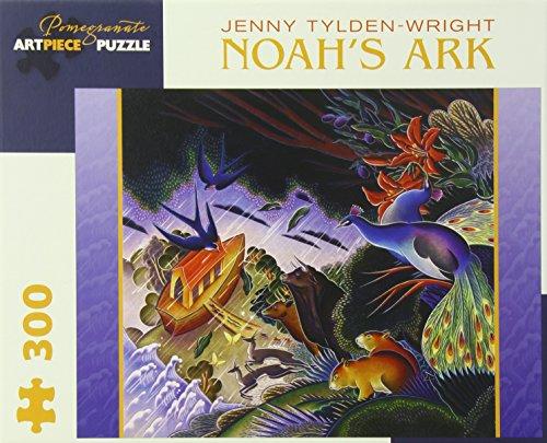 Noahs Ark Jigsaw Book - Jenny Tylden-wright Noah's Ark 300-piece Jigsaw Puzzle (Pomegranate Artpiece Puzzle)