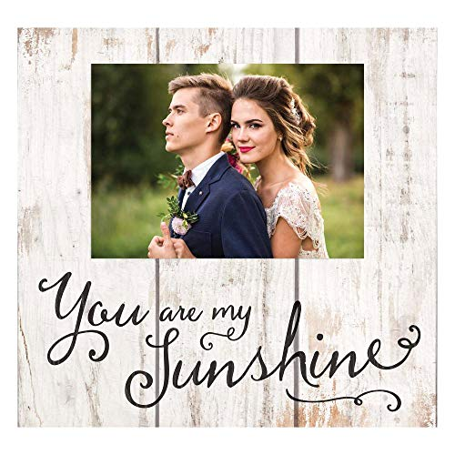P. Graham Dunn You are My Sunshine Cream 11 x 10 Pine Wood Wall and Tabletop Photo Frame