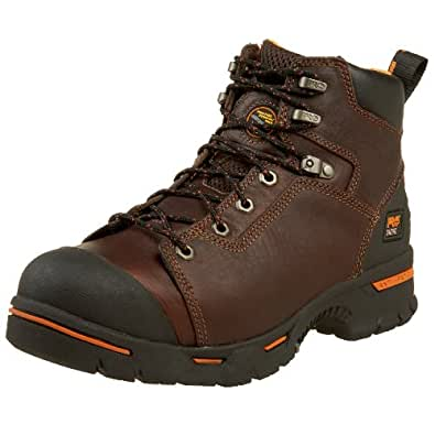 "Timberland PRO Men's 52562 Endurance 6"" Puncture Resistant Work Boot,Brown,7 W"