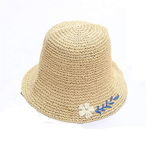 - Sun Hat Womens Straw Hat Summer Beach Sun Hat Sunscreen Shade Lady Classic Wide Brim Fashion Spring Travel Female Hat,Daisy