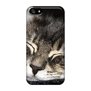 New Arrival Cat Sleeping Animals For Iphone 5/5s Cases Covers