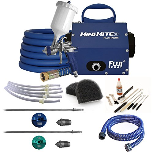 Fuji T75G Mini-Mite 3 Platinum HVLP Spray System + Pro Acces