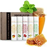 5-Pack Lip Balm Gift Set by Naturistick. Assorted