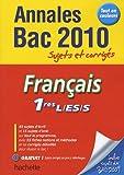Français 1res L/ ES/ S 2010