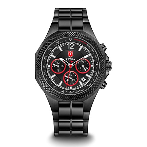 Dual Watch Bracelet Time - Tetra Men's Italian Design Special Edition