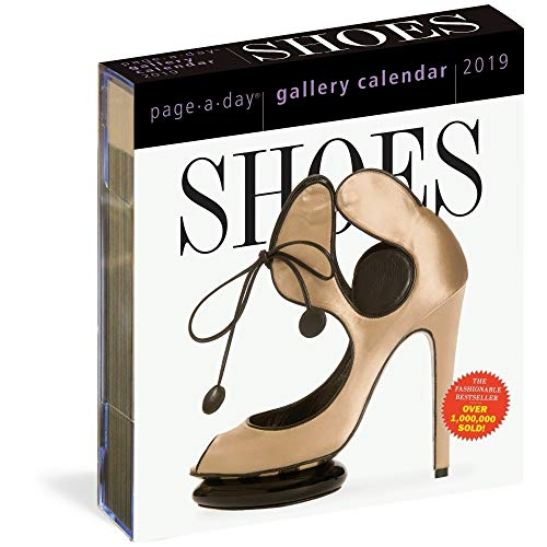 Shoes 2019 Page-A-Day Gallery Calendar