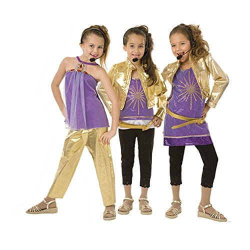 Girlu0027s Hannah Montana Halloween Costume (Large)  sc 1 st  Halloween costumes n decorations : diva costumes for kids  - Germanpascual.Com