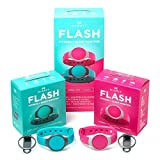 Misfit Flash 2 Pack Reef and Fuchsia L1 Activity Tracker Fitness Band