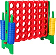 COSTWAY Jumbo 4-to-Score Giant Game Set