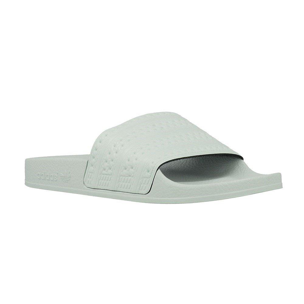 adidas Adilette Unisex Slide Pastel Green - 8 UK