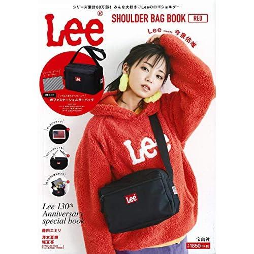 Lee SHOULDER BAG BOOK RED 画像