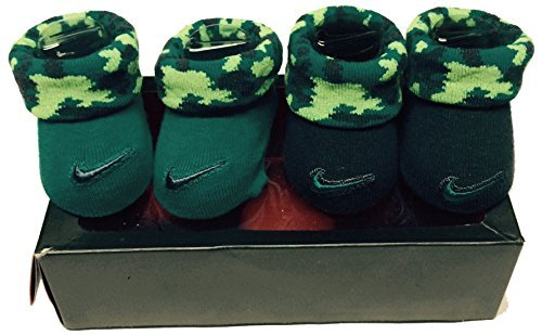 (Nike Infant Boy's 2-Pair Booties, 0-6 Months)