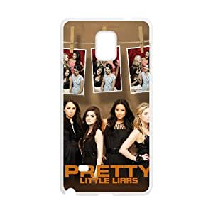 Customize High Quality Pretty Little Liars Back Cover Case ,TPU Phone case for SamSung Galaxy Note4,white