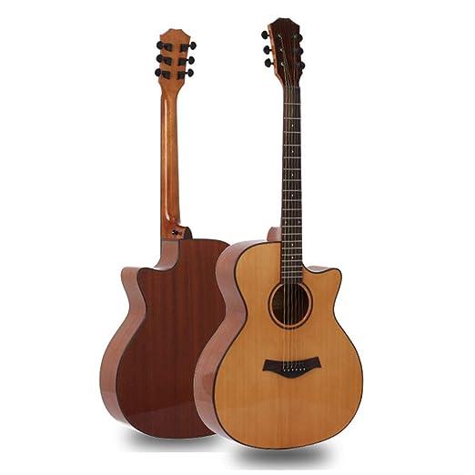 Licyen-jt Guitarra Clasica Instrumento de Cuerda con Muescas de ...