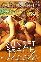 Sunset Beach Sizzle: Tropical Heat novella #1