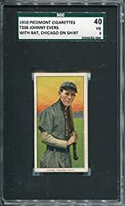 Johnny Evers Unsigned 1910 T206 Card (SGC)