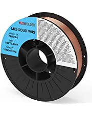 YESWELDER ER70S-6 .030/.035-Inch on 10-Pound Spool Carbon Steel Mig Solid Welding Wire