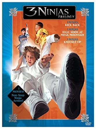Amazon.com: 3 Ninjas Trilogy (3 Ninjas Kick Back / High Noon ...