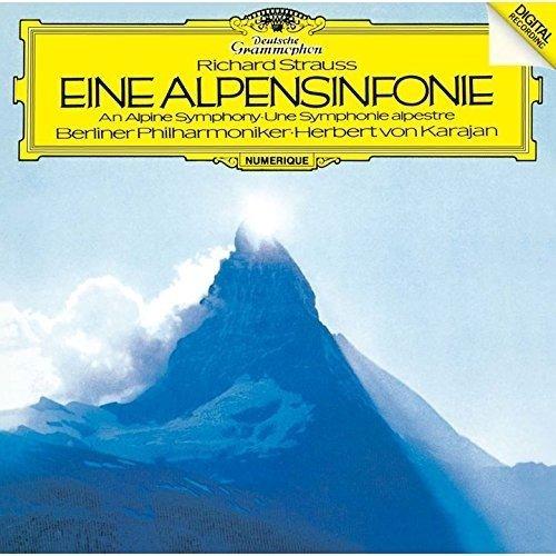 CD : Strauss, R - Karajan, Herbert Von - R.strauss: Eine Alpensinfonie (Super-High Material CD, Japan - Import)