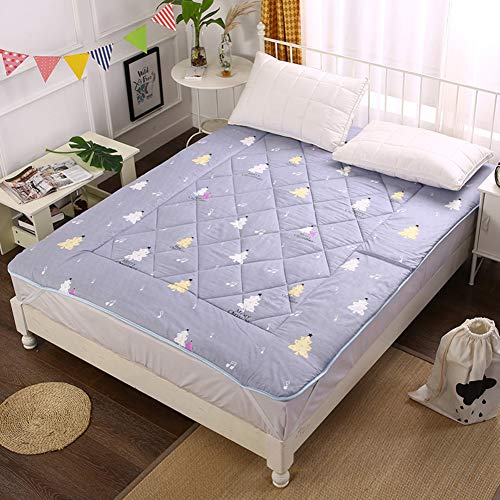 C&DIAN Folding Mattress,Mattress Pad,Comfort Portable Student Household Bedroom-B 90x200cm(35x79inch) by C&DIAN