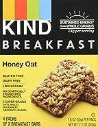 KIND Breakfast Bar Honey Oat - 4 CT