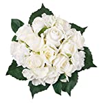 Artificial-Flowers-6-White-Roses-and-Hydrangea-Silk-Flowers-Bouquet-Real-Looking-Babys-Breath-Fake-Flowers-Wedding-Bouquets-Centerpieces-Arrangements-Party-Home-Decorations