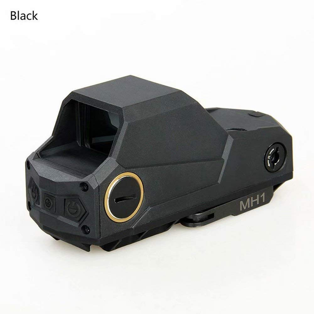 Laecabv MH1 Tactical Red Dot Sight Scope Reflex Sight Holographic Dual Motion Sensor Sight Night Vision Scope with QD Quick Detach Mount Scope Black by Laecabv
