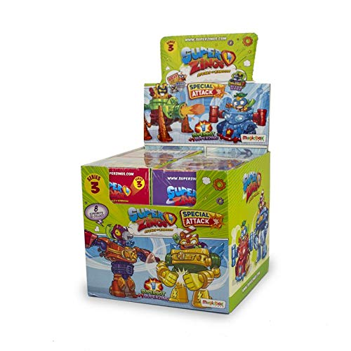 Assortito Colore Superzings superbot Serie 3/Robot E Bowser Magic Box psz3d068in00