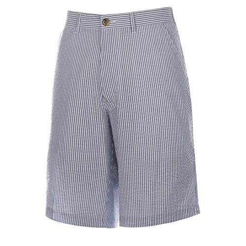 (Weekender Men's Nassau Seersucker Stripe Short Royal 42)