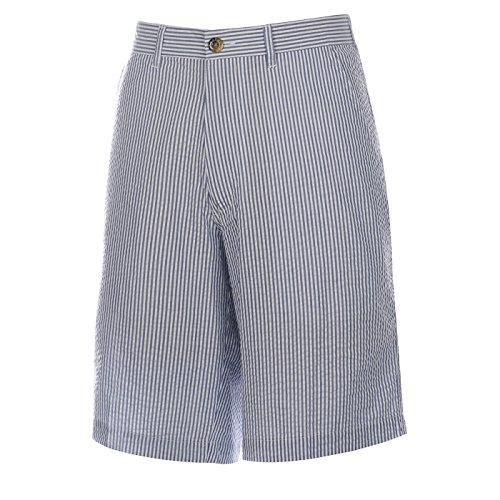 (Weekender Men's Nassau Seersucker Stripe Short Royal 42 )