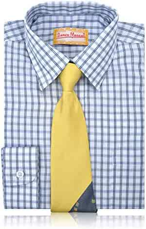 b6e14d660b0c5a Boys JAMES MORGAN Boys Polka Dot Dress Shirt with Curated Tie Sizes 4-7  Clothing