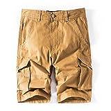 Ximandi Men's Army Cargo, Work Casual Bermuda Trousers Masculina Beach Shorts