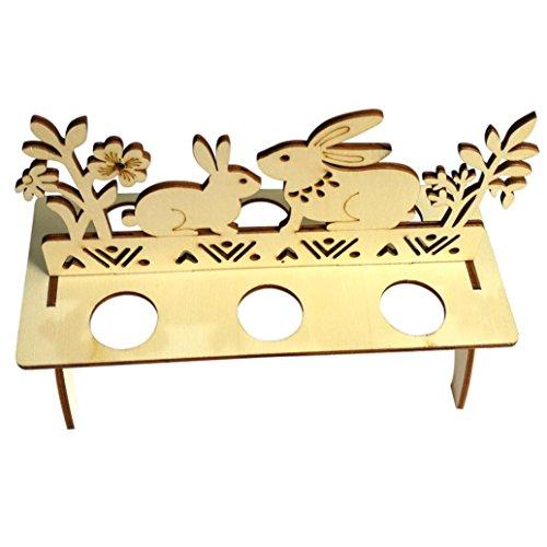Kanzd Wooden Creative Easter Egg shelves For Kids