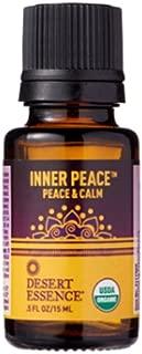 product image for Desert Essence Organic Essential Oil - Inner Peace - Peace & Calm - .5 Fl Oz - Freshens Air - Clarifying Scent - Promotes Peace & Serenity - Yoga or Meditation Practice - Tea Tree, Cedarwood Oil