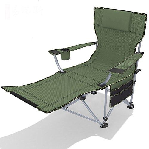 Amazon.com: L & J portátil silla de pesca, Playa sillones ...