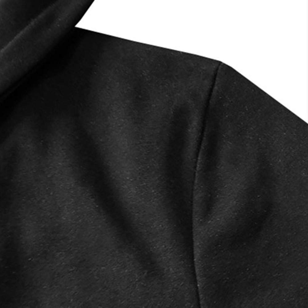 Amazon.com: 2018 BoysJacket Coat,Mens Autumn Winter Casual Warm Stripe Zipper Long Sleeve Top Blouse (L, Black): Electronics