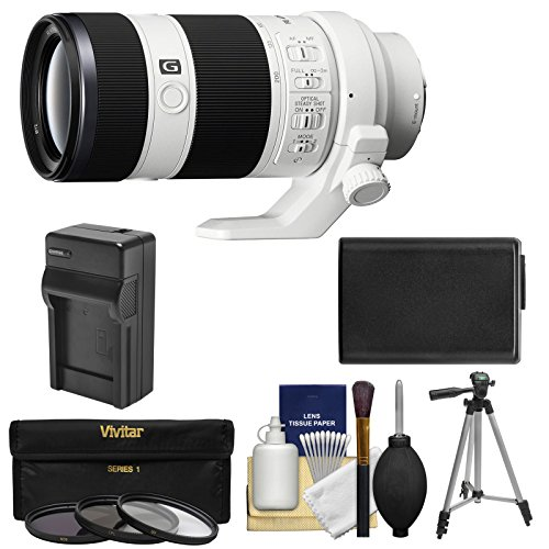 Sony Alpha E-Mount FE 70-200mm f/4.0 G OSS Zoom Lens with NP