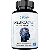 Nootropics | Brain Support Supplement | Focus Supplement | Enhance Mind IQ | Cerebral X Natural Brain Boost by Oasis Herbals | NeuroVault Memory, Focus, Clarity, Mental Alertness 60 Veggie Capsules