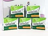 5 Packs (120 Pads) Winalite Winion Pantiliner with Anion Strip