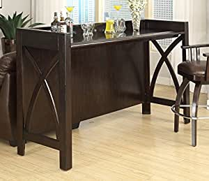 Eci Furniture Home Theatre Bar Espresso Kitchen Dining