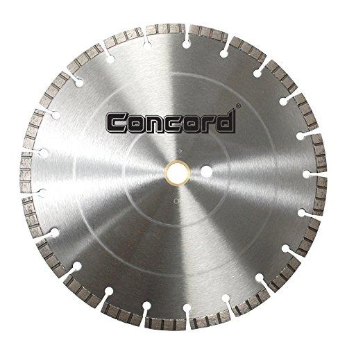 Disco de Diamante CONCORD LFC120C12HP segmentado turbo solado con láser de 12 pulg.