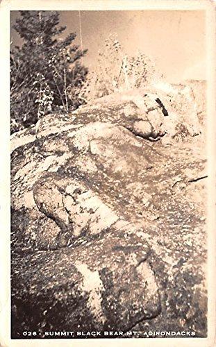 Summit Black Bear Mountain Adirondack Mountains, New York postcard