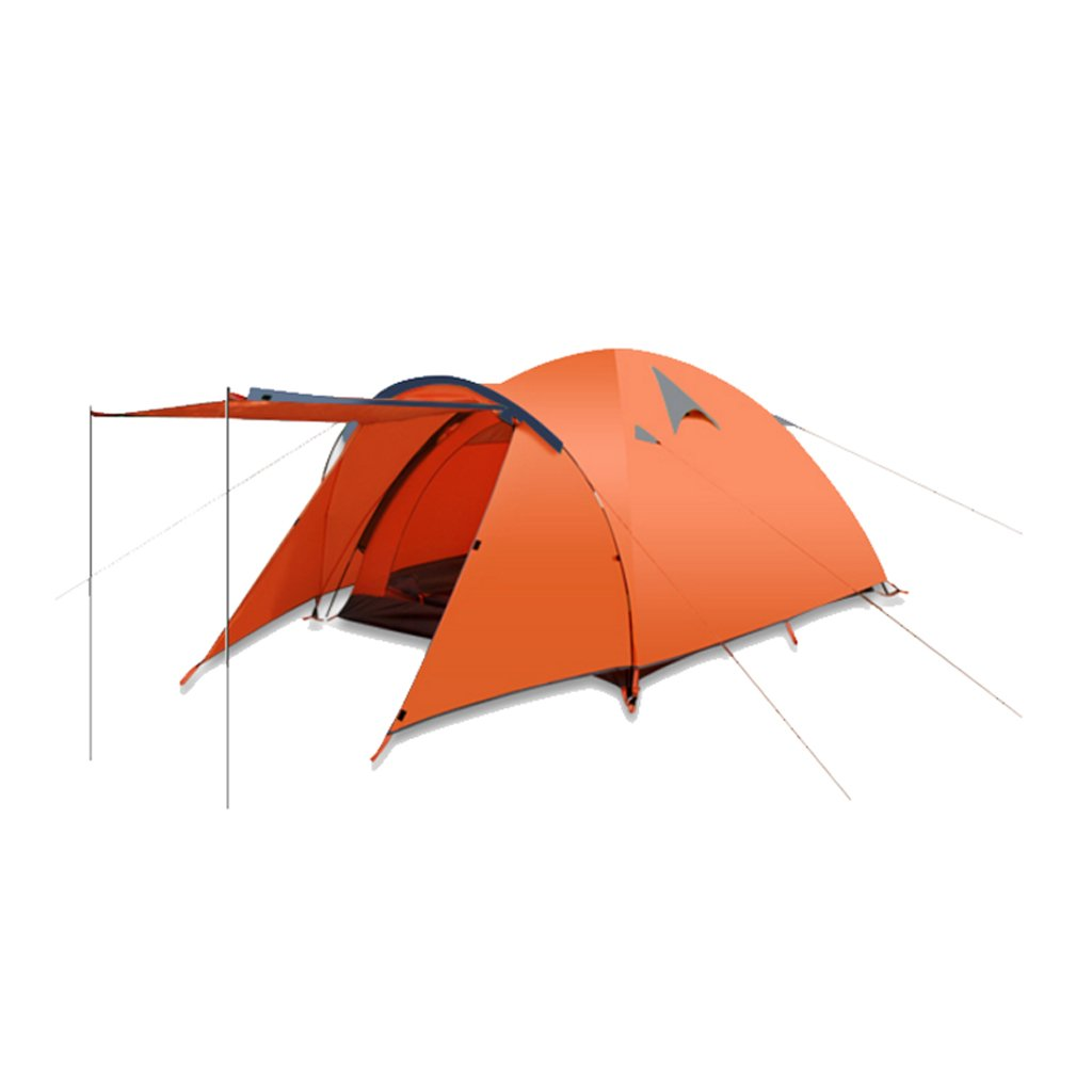 LINGZHIGAN テントアウトドア3-4ダブル防風キャンプキャンプ屋外の厚い防水テント B07F41JTNP