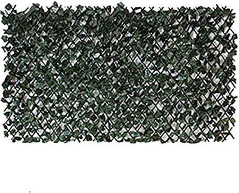 Mampara de hiedra artificial en sauce enrejado 2 m altura x 1 m ...