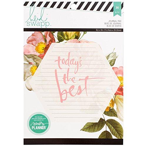 Heidi Swapp 36 Sheets Large Memory Planner Journal…