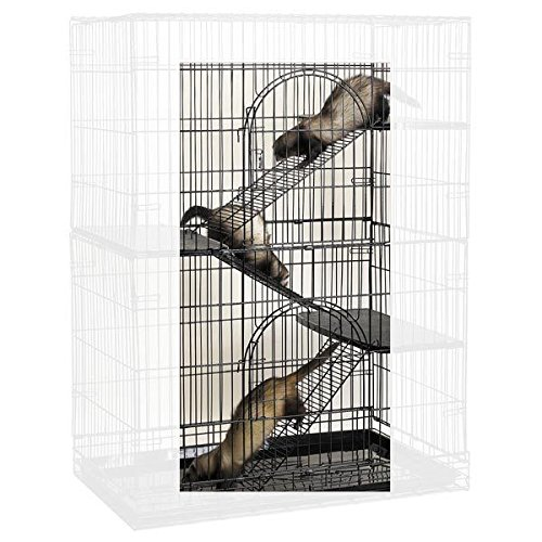 Small Animal Pet Steel Ramp Conversion 3 Piece Kit for Cages Cat Bird Ferret by Pro Select