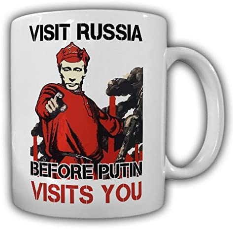 Coffee Mug with Russian Reaction to Corona and other crazy Situations
