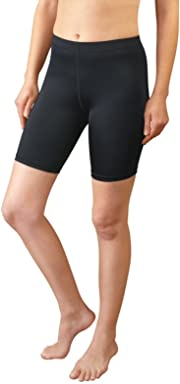 529486b7a333 AERO|TECH|DESIGNS Women's Spandex Exercise Compression Workout Shorts