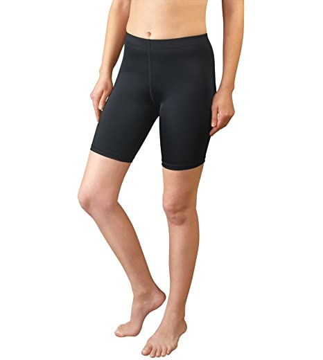 d75e5ffbc6 AERO|TECH|DESIGNS Women's Spandex Exercise Compression Short Running, Yoga, Workout  Fitness