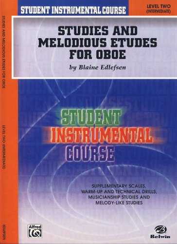 - EDLEFSEN B. - Student Instrumental Course: Studies and Melodious Etudes for Oboe Level 2 para Oboe